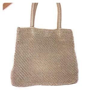 The Sak cream tote bag Elliott Lucca
